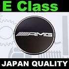 Black AMG Mercedes Benz E Class Steering Wheel Emblem Horn Badge W212