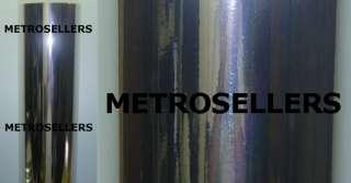 CHROME MIRROR VINYL Roll Sheet Adhesive Sticker Decal