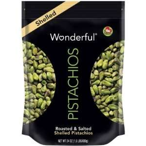 Wonderful Pistachios Roasted and Salted Shelled Pistachios