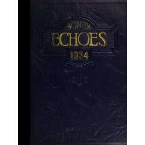 : Bonita Union High School (closed 1960) 1934 Yearbook Staff: Books