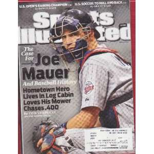 Illustrated June 29, 2009 U.S. Open Joe Mauer Time Warner Books