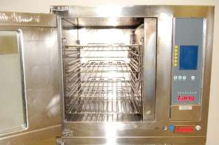 Lang 1/2 Size Electric Convection Oven & Full Proofer