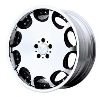 20x9.5 Black Wheels Rims VENTI PLUS VP103 5x112