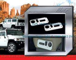 Fierce Chrome Billet Seat Control Covers HUMMER H2