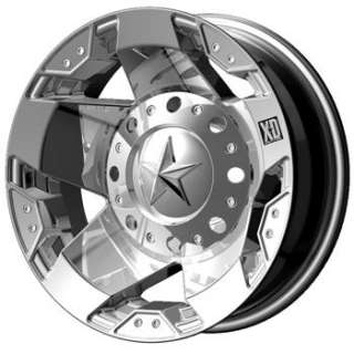 17 Chrome Wheels Rims XD XD775 8x170 Ford Dually