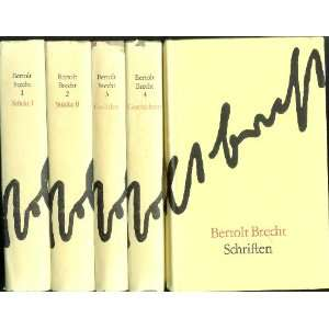 Brecht Stucke (5 Volume Set) Books