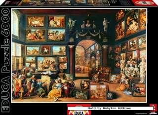 of EDUCA 6000 pieces jigsaw puzzle Genuine   Art studio (15172