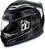 Icon Airframe Lifeform Carbon Black Helmet XLarge XL