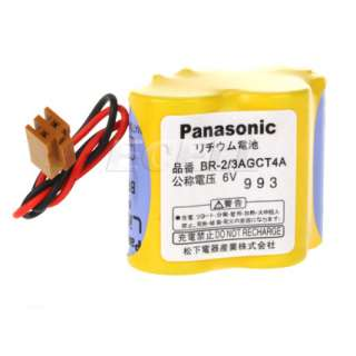 6V BR 2/3AGCT4A PLC PANASONIC LITHIUM BATTERY