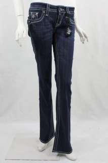 Brand New Rock Revival Celine Crystal Buttons Jeans