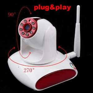 EasyN Wireless WiFi UPnP IP Camera CMOS CCTV Security System