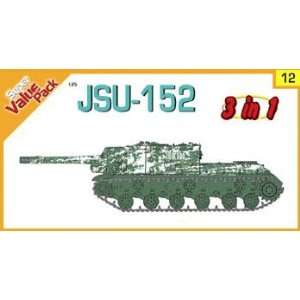 35 JSU152 Tank w/Red Army Scouts & Snipers (3 in 1 Kit) Toys & Games