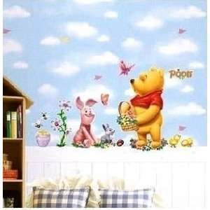 Modern House Winnie the Pooh and Piglet Flower Greeting (2