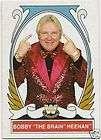 BOBBY BRAIN HEENAN #75 2008 WWE Heritage 4 IV card WWF