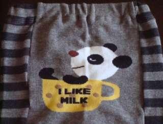 New Baby Boys Girls Leggings Tights Pants Dark Gray 3T