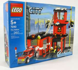 my son has 3 lego city fire station sets 2008