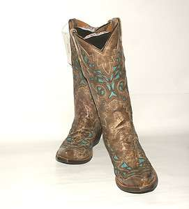 319 Womens Resistol Ranch M3571 Western Boot Desert Plato Calf