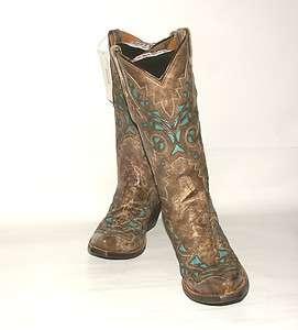 319 Womens Resistol Ranch M3571 Western Boot Desert Plato Calf