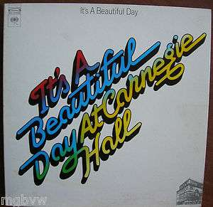 Its A Beautiful Day At Carnegie Hall 1972 33 rpm LP near mint