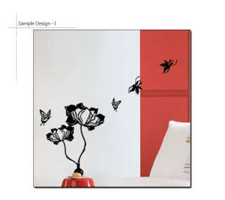 Magic Flowers Home Decor Art Wall Sticker Vinyl Decals