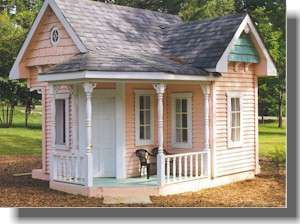 DIY Shed/Log Cabin Summer/Play House Barn Garage CD