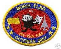 USAF Patch 37th Bomb Squadron, B 1 Bomber Morale