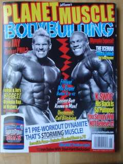PLANET MUSCLE bodybuilding fitness magazine/Mr Olympia JAY CUTLER 1 11