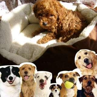 New Luxury warm round unique soft Pet dog cat puppy bed small
