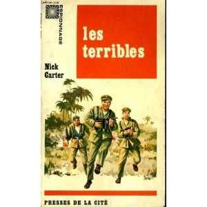 Les terribles Nick Carter Books