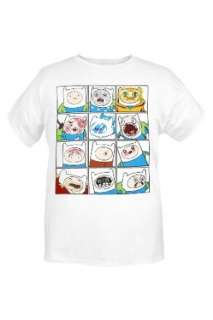 Adventure Time The Many Faces Of Finn T Shirt Clothing