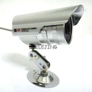 Wide Angle Lens Outdoor IR Color Security CCTV Camera