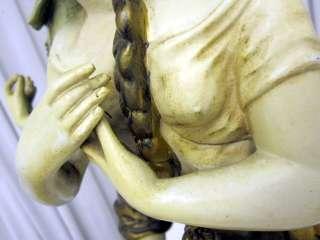 Antique RARE Hip Moreau French Bronze Sculpture Lamp Collection