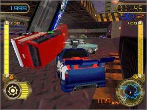 Hot Wheels Velocity X PC CD mission based car racer weapons extreme