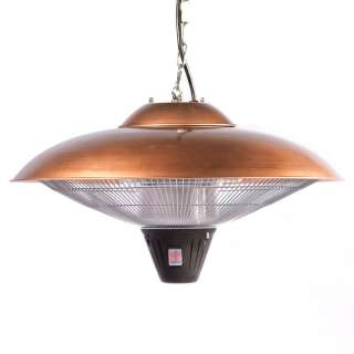 Hanging Copper Finish Halogen Patio Heater 60660