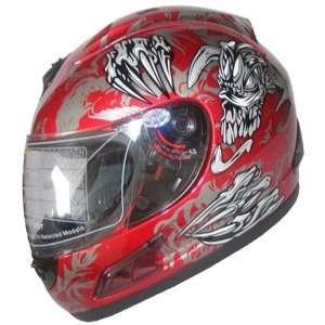 Adult Full Face Sports Motorcycle Helmet DOT (508) 160