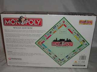 Wigan Monopoly NEW SEALED England UK Great Britain United Kingdom