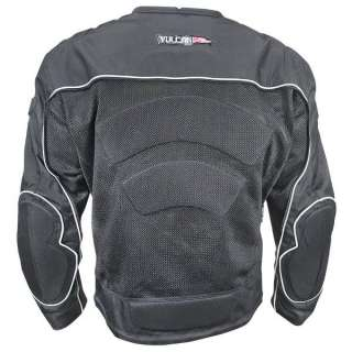 Vulcan NF 7111 Two Faced Armored Mens Motorcycle Jacket M ~