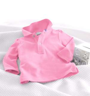 Layette Girl Long Sleeved Polo   Create Your Own   RalphLauren