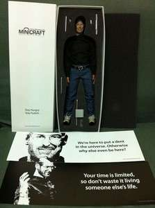 CUSTOM MADE APPLE CEO   Steve Jobs FIGURE