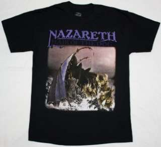 HAIR OF THE DOG75 HARD ROCK DEEP PURPLE URIAH HEEP NEW BLACK T SHIRT