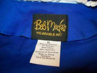 You are viewing a Bob Mackie Wearable Art Jacket size XLarge