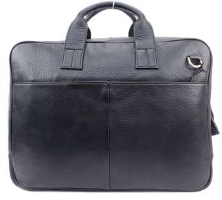 Mens Genuine Cowhide Italy Leather Bag Briefcase Messenger Laptop Case