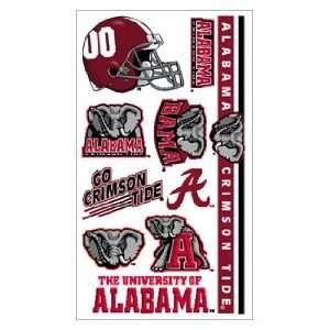 Alabama Crimson Tide Tattoo Sheet **