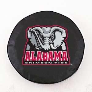 Alabama Crimson Tide Elephant Tire Cover Color Black