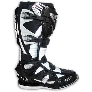 NEW UFO MOTOCROSS/ENDURO PIVOT RACE BOOTS WHITE 45   11