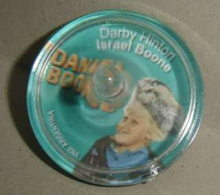 DANIEL BOONE Israel cereal Argentina Darby Hinton toy