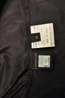 New Roberto Cavalli Wide Sleeve Blouse Shirt Black 38