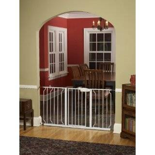 Easy Step Extra Wide Walk Thru Gate, White: Explore similar items