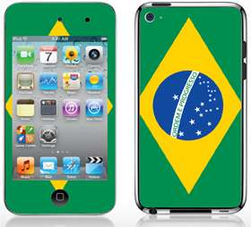 Apple iPod Touch 4 Skin Sticker Cover Case Earth