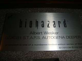 Resident Evil Watch Albert Wesker GSX Biohazard CAPCOM